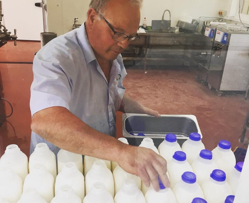 Bottling Milk